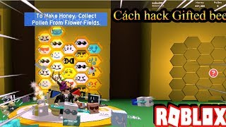Roblox | Tutorial hack gifted bee | Bee swarm simulator | No bui