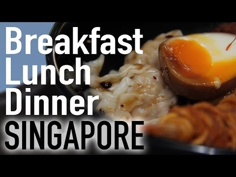 3 Earth-Shatteringly Delicious Meals @ Singapore's Amoy St Food Centre