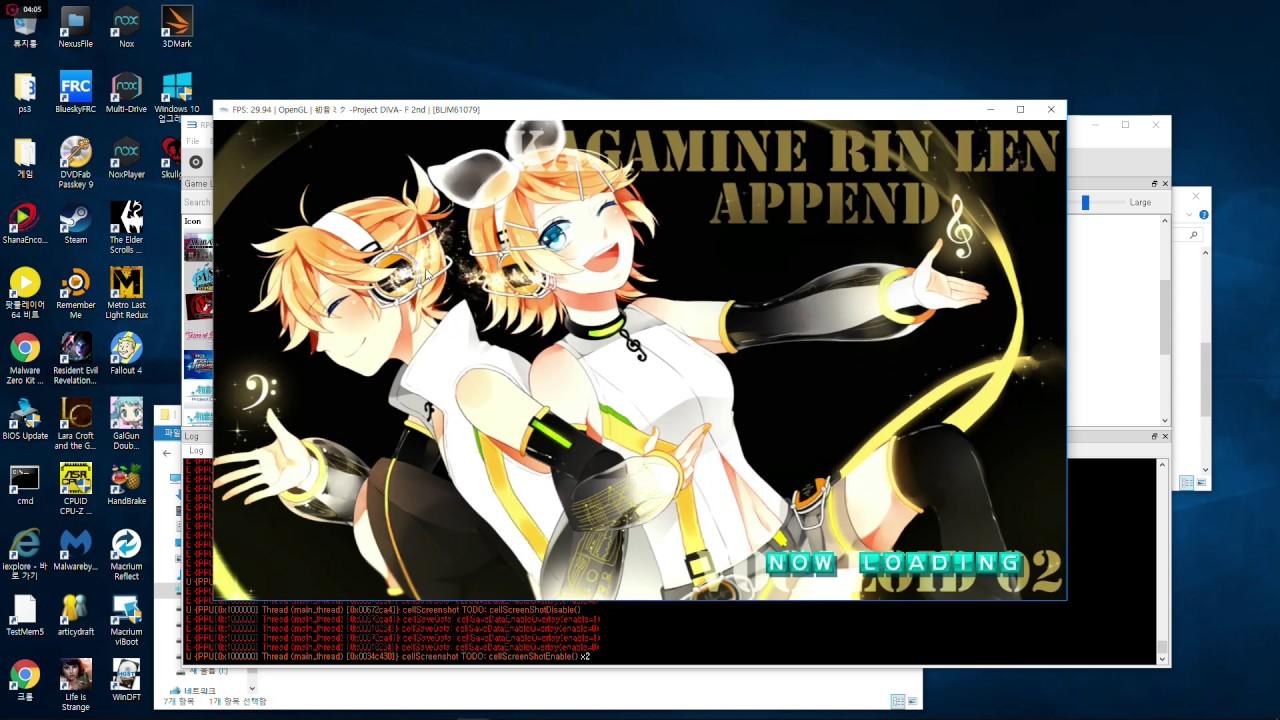 RPCS3 Forums - Hatsune Miku: Project DIVA F 2nd [NPJB00435]