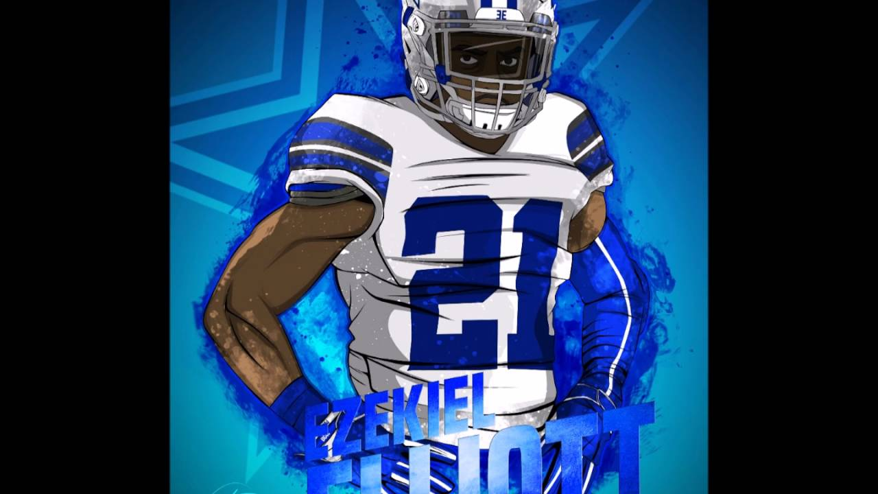 Ezekiel Elliott Theme Song Dallas Cowboys  21 RB - YouTube 5d0c49b92b2e