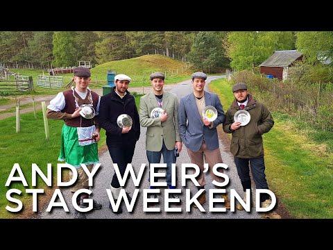 2019-05-03 Thru 2019-05-05 'Andy Weir's Stag Weekend, Glenfeshie Hostel, Kingussie, UK'