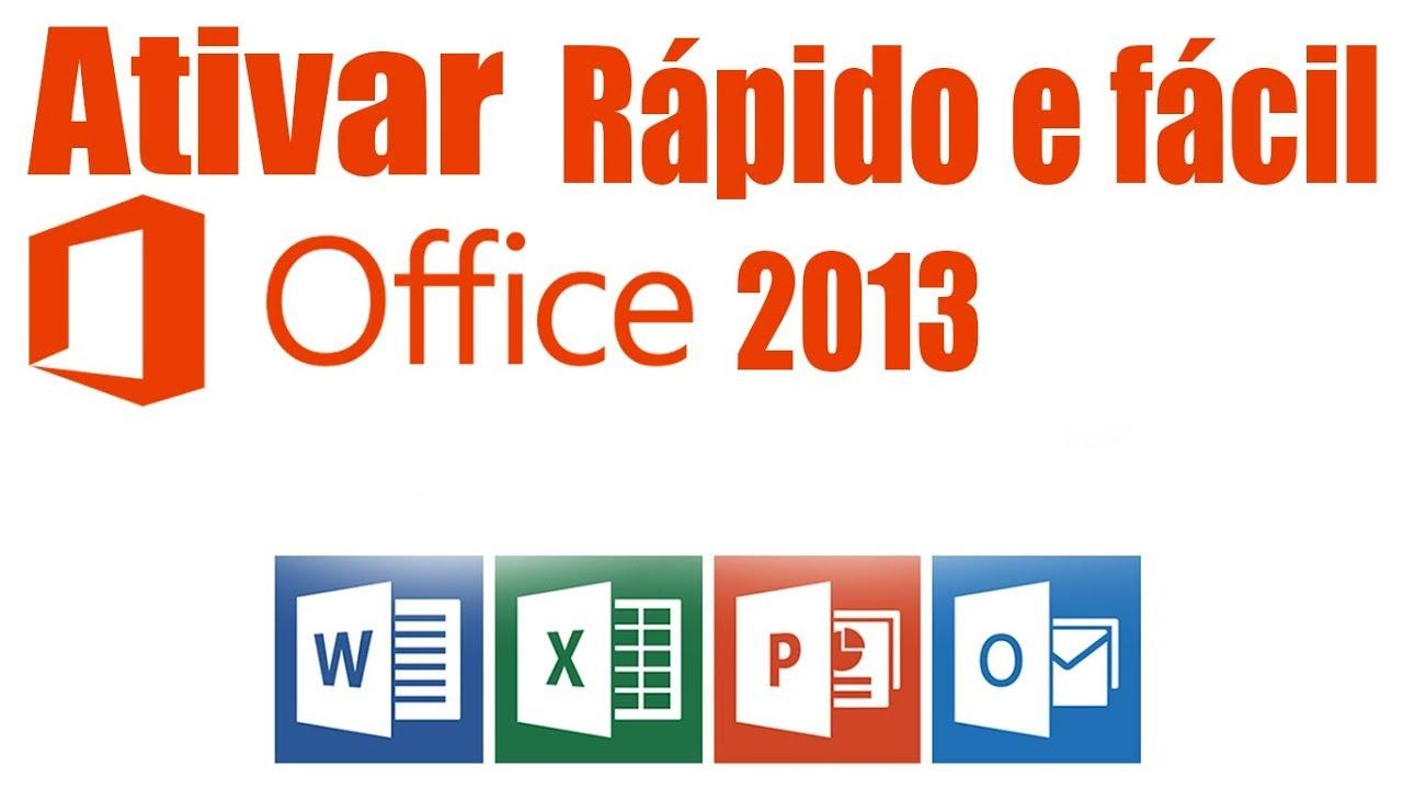 chave do office 2013 para ativação