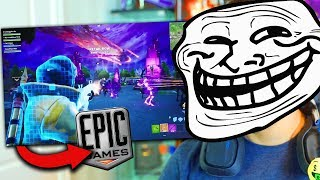 EPIC GAMES SE RIE DE NOSOTROS XD