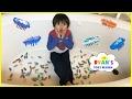 watch he video of 100+ HexBug Nano Toy Hunt Challenge