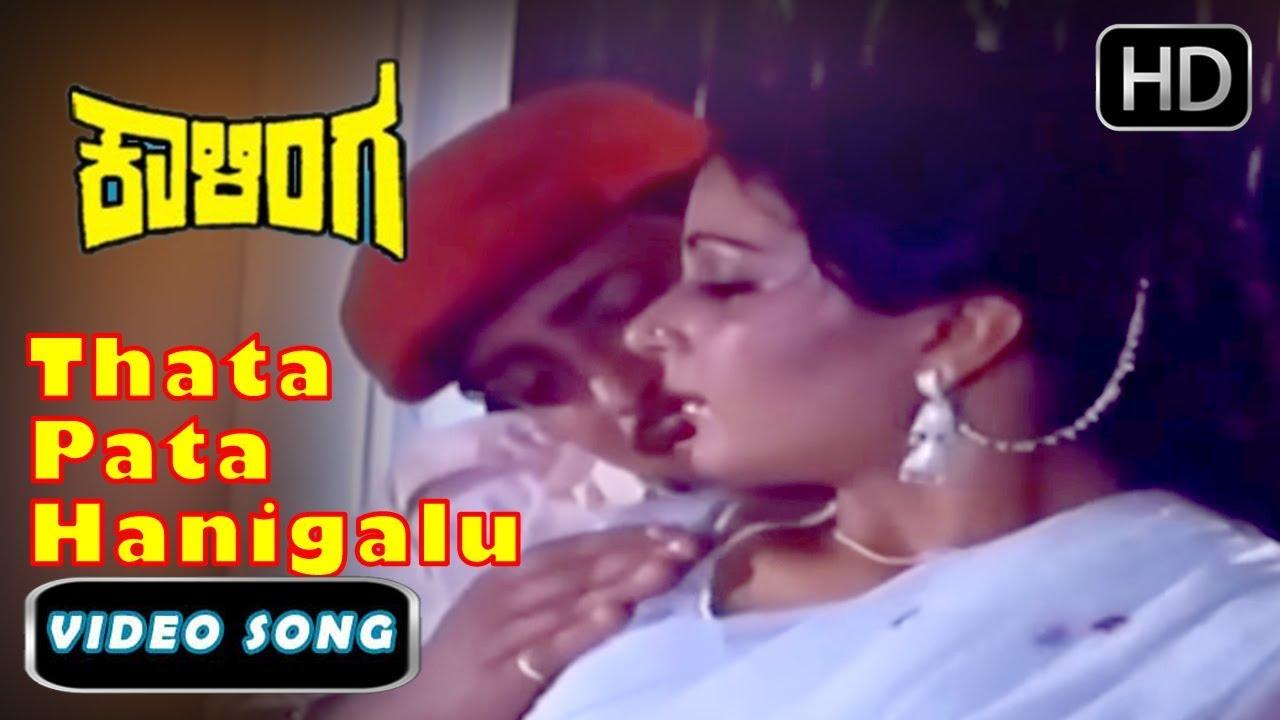 Download Kannada Superhit Rain Songs   Thata Pata Hanigalu Kaalinga Kannada Old Songs   Dr.Vishnuvardhan