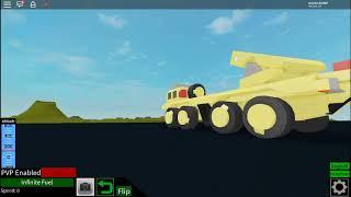 Camión aPC /Misiles - avión roblox loco