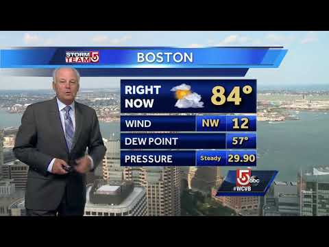 Video: Threat of rain to start off weekend