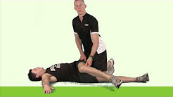 Supine Spinal Rotation PNF - lower back (Hold-Relax)