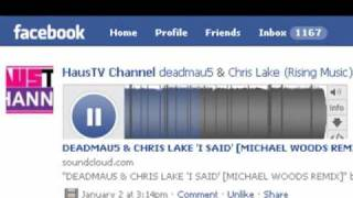Deadmau5 - I Said Feat. Chris Lake (Michael Woods Remix)