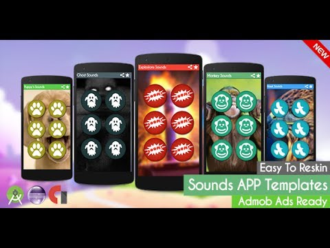 Explosions Sounds (App Templates) Admob Android Studio + Eclipse + ...