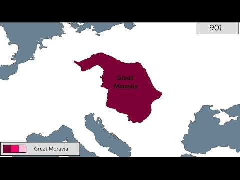 History of Great Moravia [803-907]