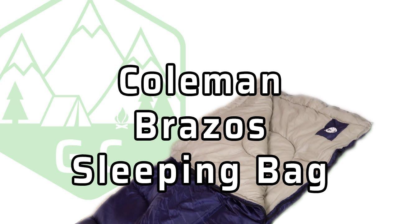 Coleman Brazos Sleeping Bag Review
