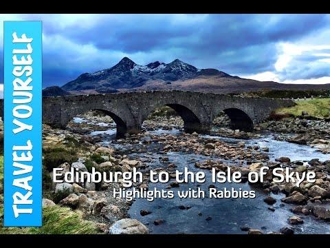 Edinburgh to the Isle of Skye Highlights with Rabbies
