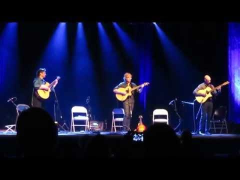 California Guitar Trio - Toccata & Fugue in D Minor LIVE - April 14, 2015 - Atlanta, GA