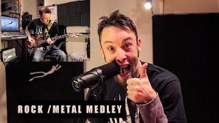 10 rock/metal songs in 2 minutes