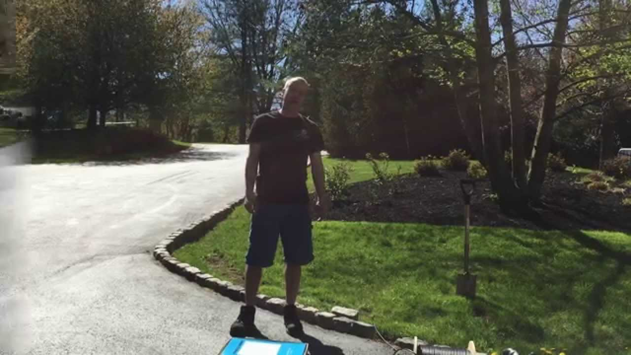 How To Run Electrical Wire Under Driveway: How to run a wire across a driveway - YouTuberh:youtube.com,Design
