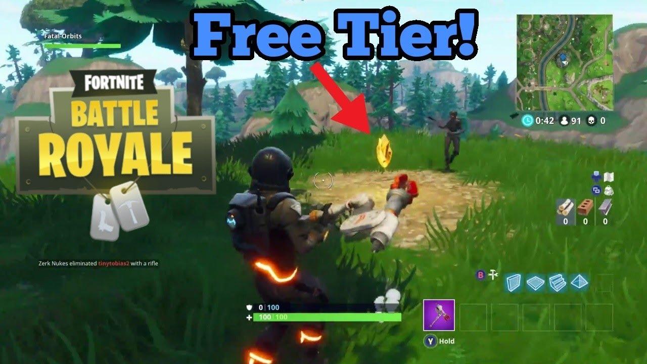 fortnite free tier location