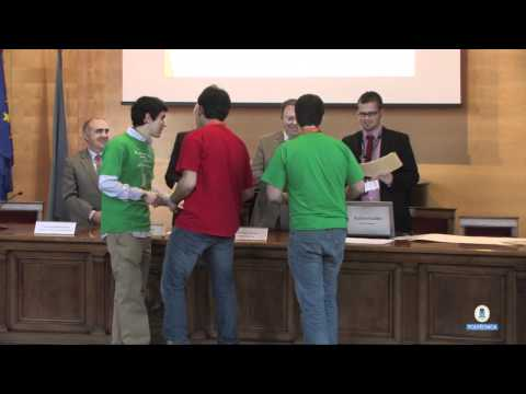 Entrega premios competición Spanish BEST Engineering Competition