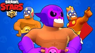 Brawl Stars - Gameplay Walkthrough Part 117 - El Primo All Skins (iOS, Android)