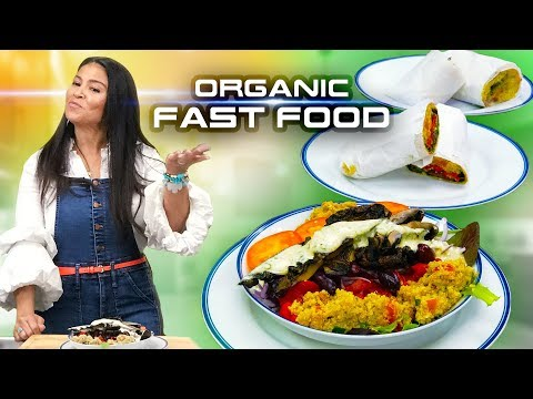 How To Make Organic Healthy Fast Food | Grown Restaurant's Shannon Allen Recipes