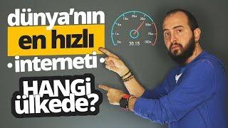 Dünyanın en hızlı interneti hangi ülkede? Türkiye kaçıncı sırada?