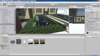 Como Poner un Mapa / Una Casa de minecraft en Unity 3D 5.0 y Cualquier Version