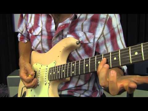Rock Guitar Lessons - 80's style rock rhythm inspired by ...