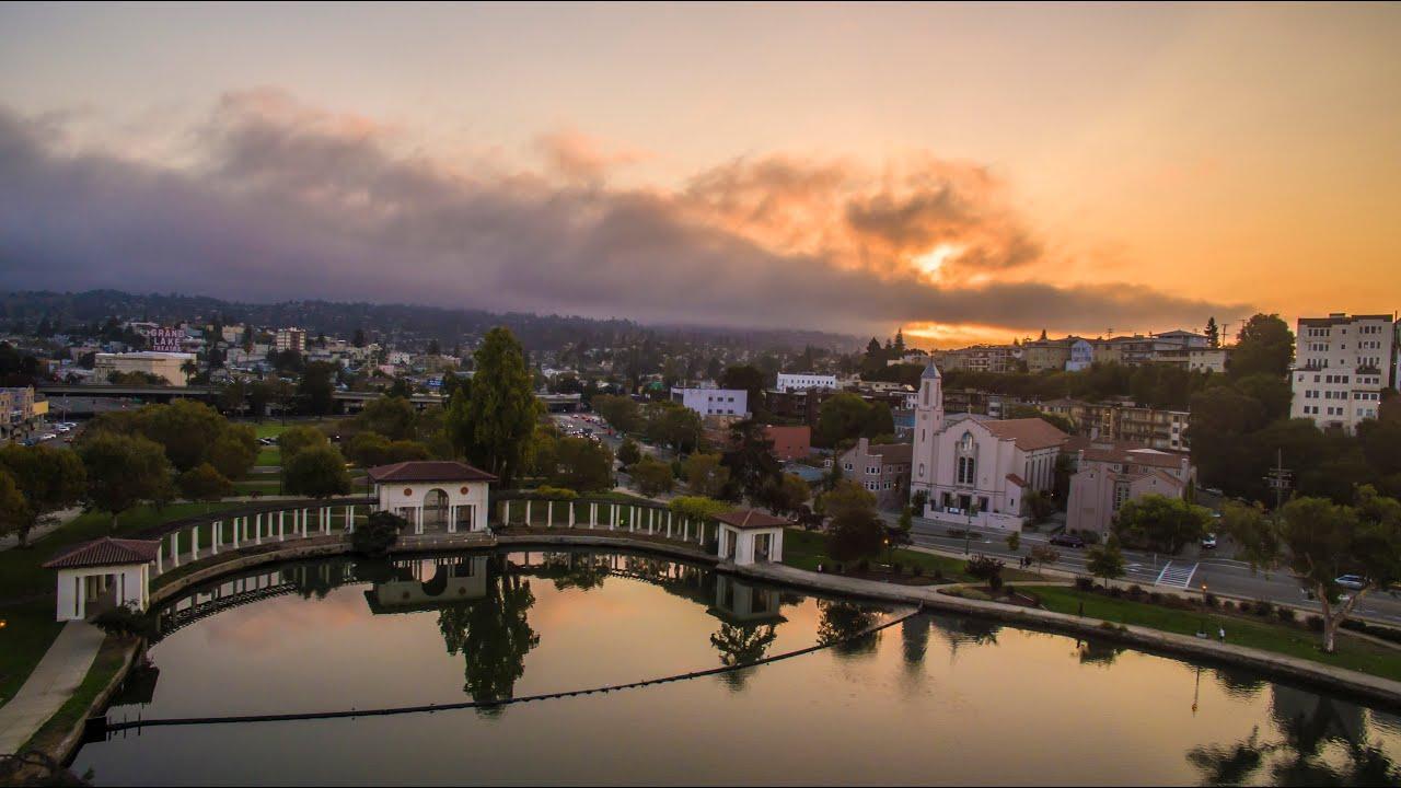 Dji Phantom 2 >> Lake Merritt Oakland Sunrise (Drone) - YouTube