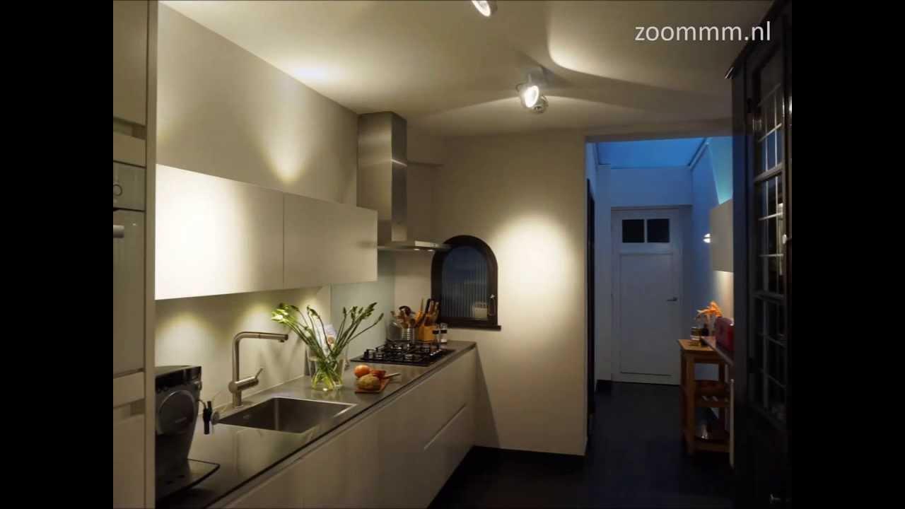 Strakke greeploze keuken maatwerk designkeuken youtube