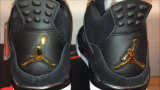 "FIRST LOOK AT THE Air Jordan 4 ""Royalty ON FOOT REVIEW"