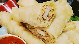 BEHARI BOTI ROLL... home made recipe to make boti roll at home by ( cook with ainy mehboob )