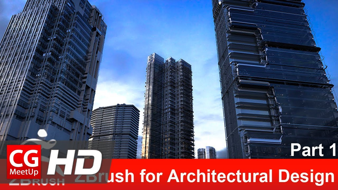 ZBrush For Architectural Design   Part 1 | Zbrush Tutorial | CGMeetup