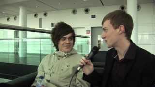 Frankie Cocozza interview at Big Brother 2012 London Auditions - Celebritain