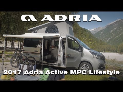 2017 Adria Active New Multipurpose Camper product