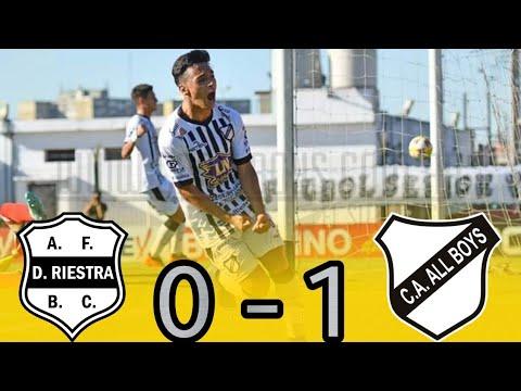 B Metro : RIESTRA 0 - 1 ALL BOYS (El Gol)
