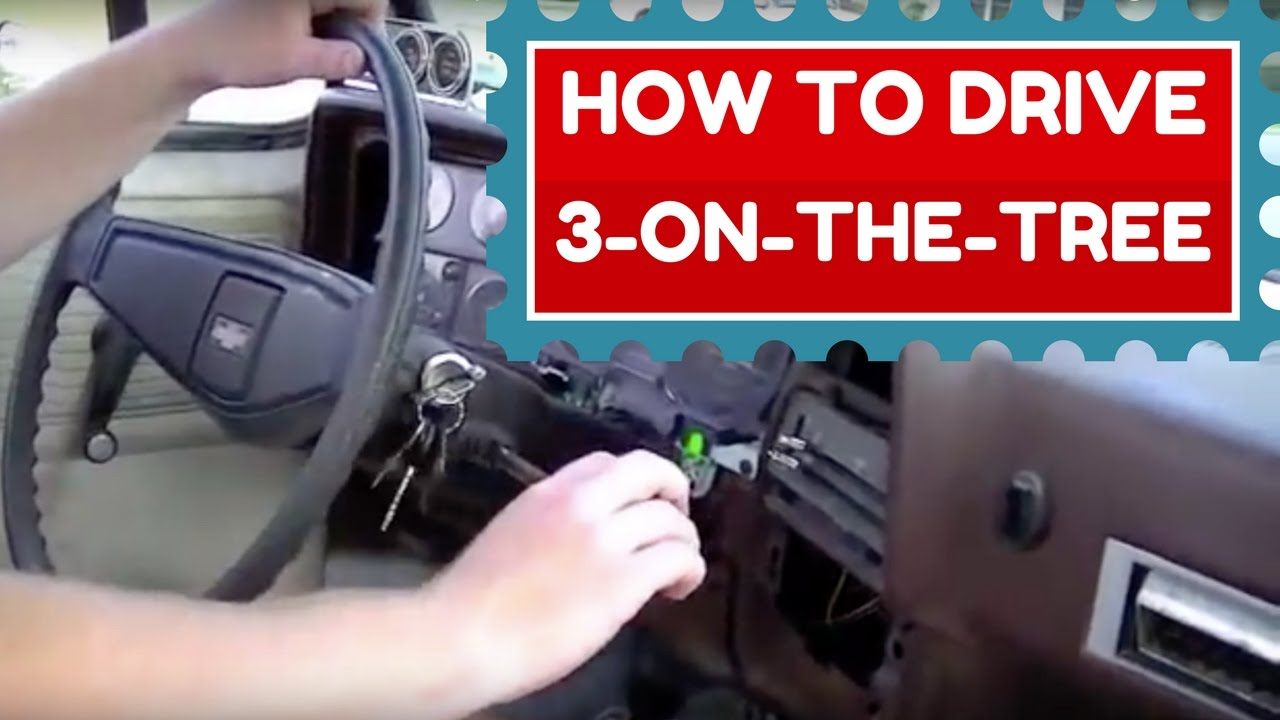 3 On The Tree Transmission How To Drive Youtube