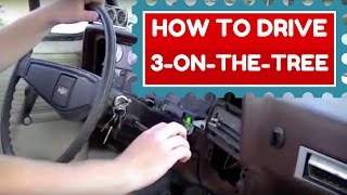 1977 c10 3 On The Tree | How to Drive a 3 Speed Column Shift
