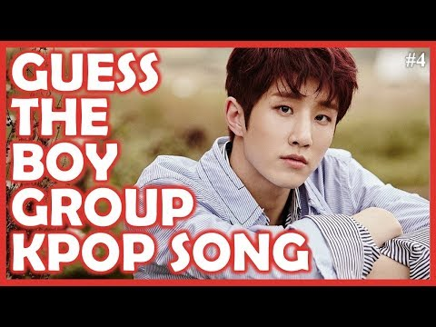 Guess the Kpop Song BOY GROUP EDITION #4