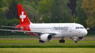 Video Helvetic Airbus A319 - First landing in Berne HD download MP3, 3GP, MP4, WEBM, AVI, FLV Januari 2018