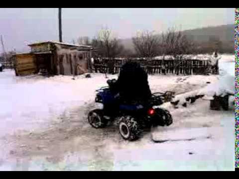 Купить Утилитарный квадроцикл видео BIKE18 RU ATV150u ATV200u .