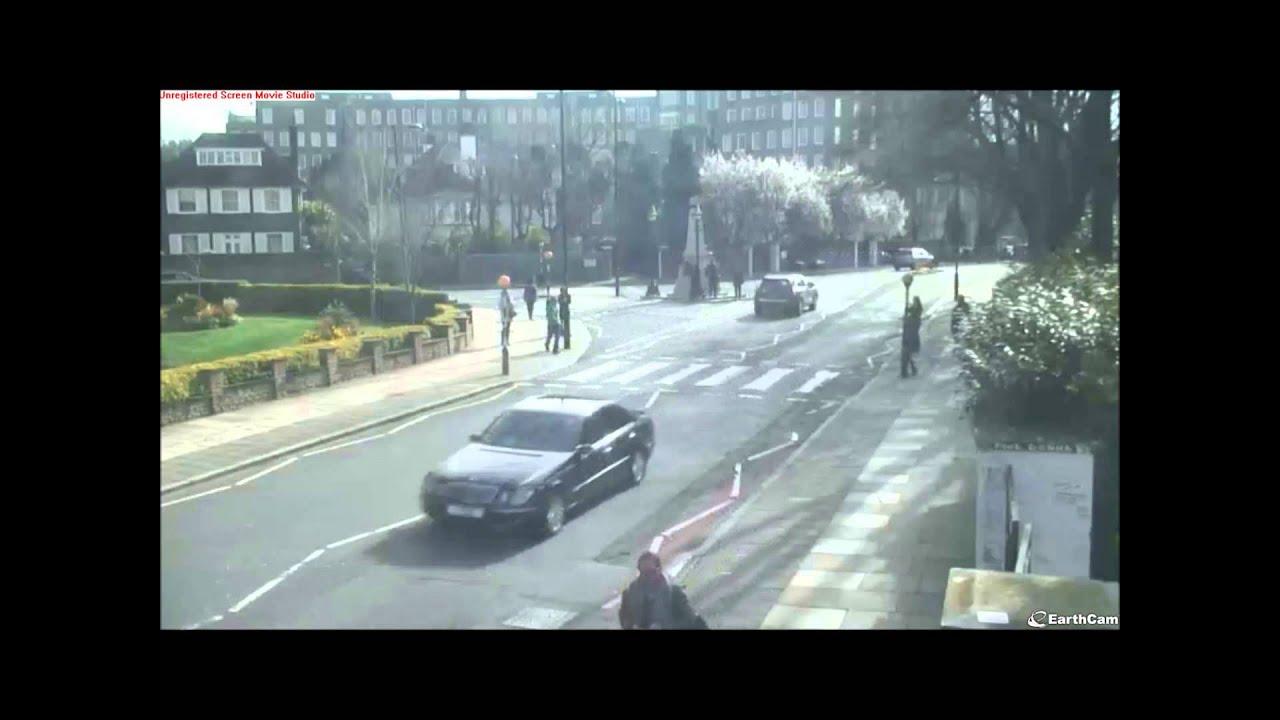 abbey road crossing cam youtube