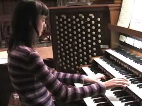 Hope Academy Organ Student - Masterpiece Theater Theme Song