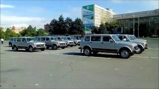 Саратовским полицейским вручили ключи от 25 новых автомобилей
