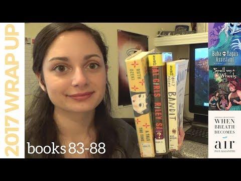 2 fiction, 2 memoir, 2 graphic novels | Reading Wrap-Up #17