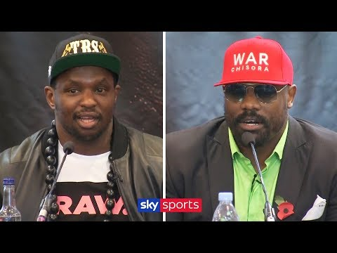 Dillian Whyte vs Dereck Chisora 2 | Full Press Conference
