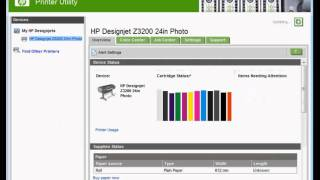 HP Designjet Z3200 printer repairs - how to disable the cutter