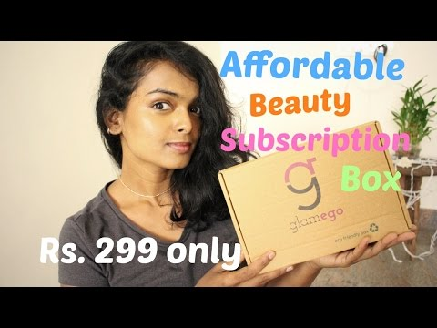 AFFORDABLE BEAUTY SUBSCRIPTION BOX - Glamego box - May