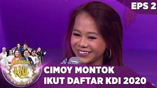 LOHH!!! Cimoy Mau Ikut Audisi KDI, Juri Pada ga Setuju - Ngantri KDI 2020 (28/7)
