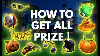 [EVENT] HOW TO GET ALL PRIZE - HALLOW'S EVE - SINISTER SWAMP GUIDE