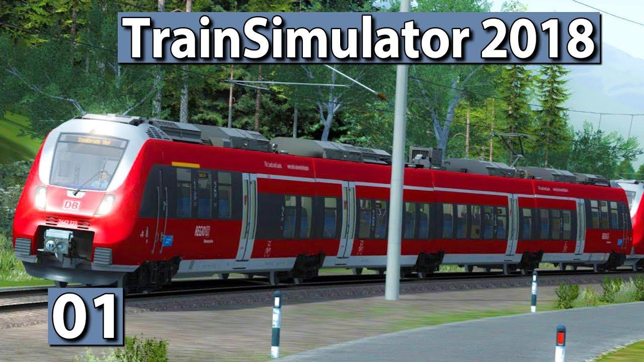 train simulator 2018 in deckung gada f hrt wieder zug. Black Bedroom Furniture Sets. Home Design Ideas